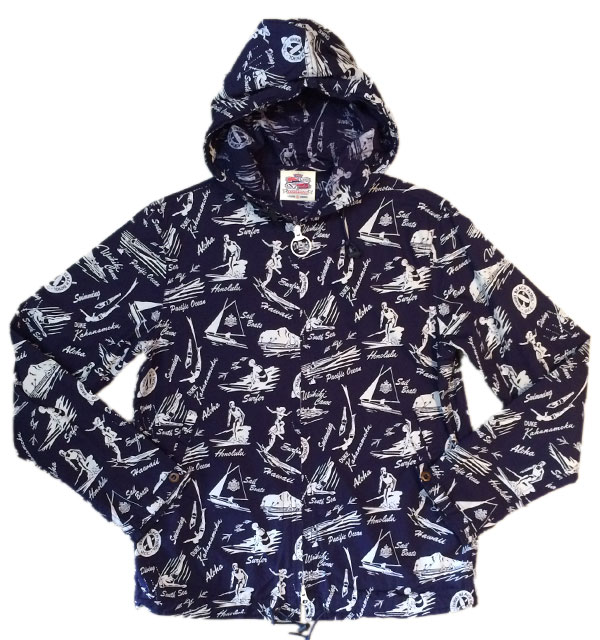 サンサーフ 【SUN SURF】 DoubleZip Parka DUKE WATERMAN'S  NAVY