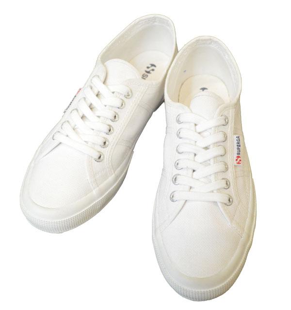 スペルガ 【SUPERGA】 キャンバスシューズ 2750 COTU (Classic) WHITE