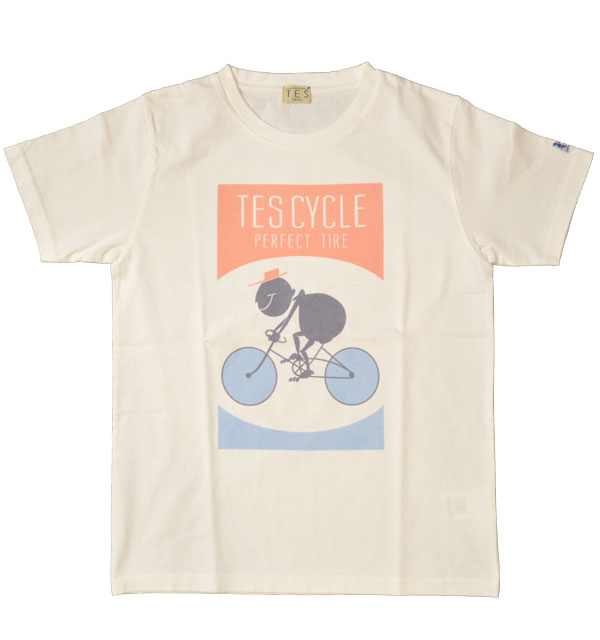 ザエンドレスサマー 【THE ENDLESS SUMMER】 TES CYCLE Tシャツ WHITE