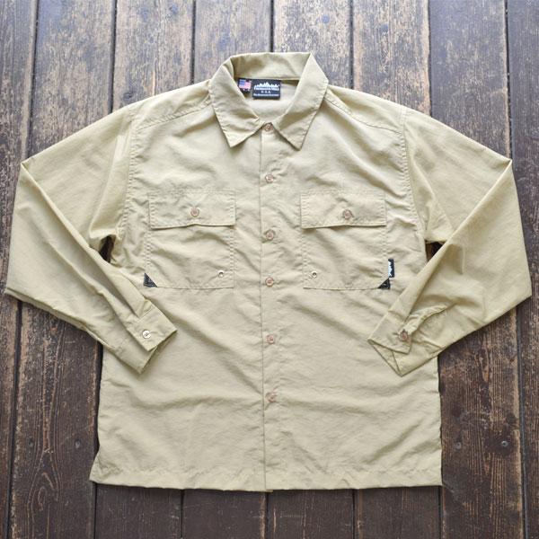 サウザンドマイル THOUSAND MILE サプレックスナイロンユーティリティシャツ UTILITY SHIRTS MADE IN USA TAN