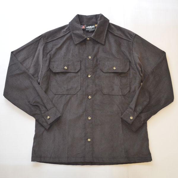 サウザンドマイル THOUSAND MILE バラストシャツ BALLAST SHIRTS 14W 8.1OZ CORDUROY CHARCOAL