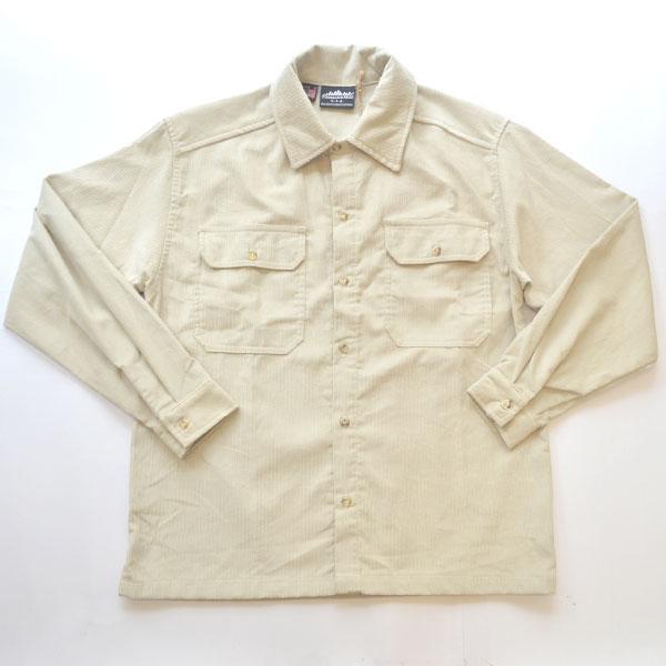 サウザンドマイル THOUSAND MILE バラストシャツ BALLAST SHIRTS 14W 8.1OZ CORDUROY STONE