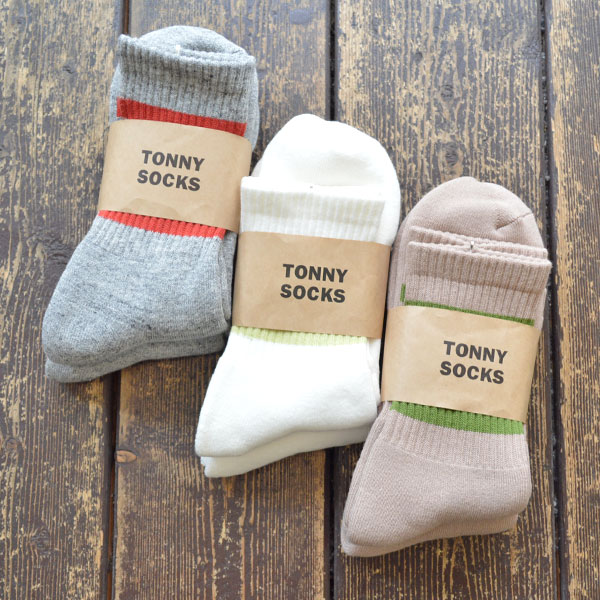 トニーソックス TONY SOCKS スケーター ラインソックス Skater Socks