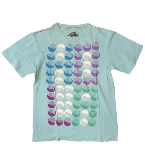 トポランチ 【TOPO RANCH】 オーガニックコットンTシャツ BLUE