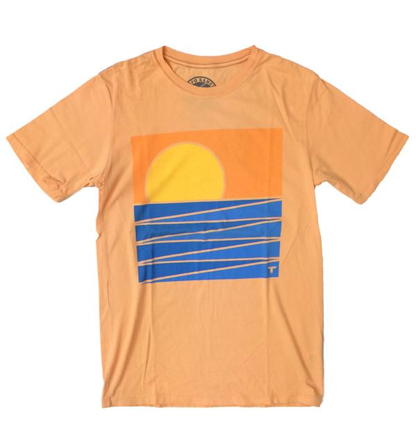 トポランチ 【TOPO RANCH】 オーガニックコットンTシャツ ORENGE