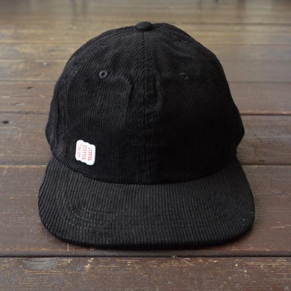 トポデザインズ TOPO DESIGNS コーデュロイ 6Pキャップ CORDUROY HAT BLACK