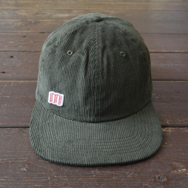 トポデザインズ TOPO DESIGNS コーデュロイ 6Pキャップ CORDUROY HAT OLIVE