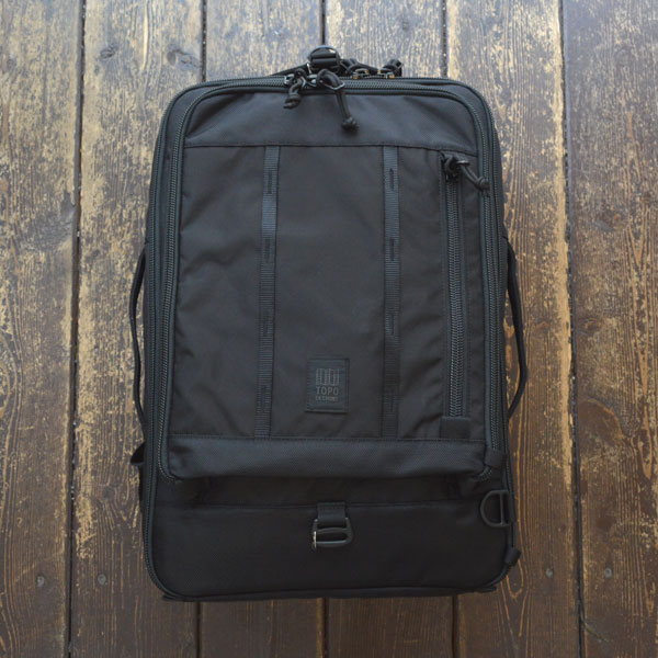 トポデザインズ TOPO DESIGNS トラベルバッグ TRAVEL BAG 30L BLACK