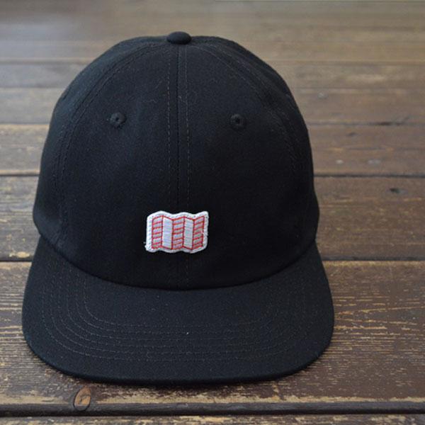 トポデザインズ TOPO DESIGNS ミニマップハット 6Pキャップ MINI MAP HAT BLACK