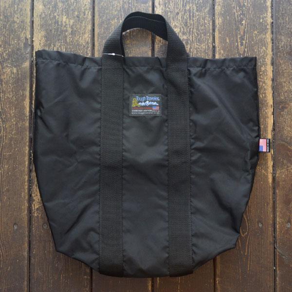 タフトラベラー TOUGH TRAVELER ビッグクラシックトートバッグ BIG CLASSIC TOTE BAG BLACK