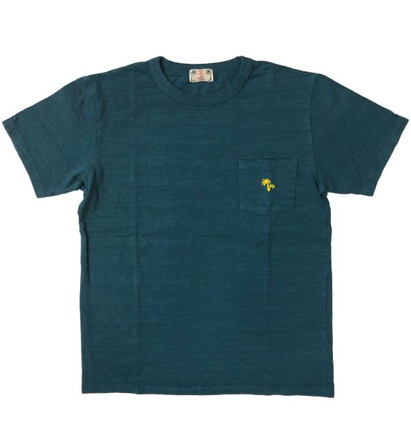 ユーエムアイ サンライズ 【U.M.I SUNRISE】 スラブポケットTシャツ PALM MT.GREEN