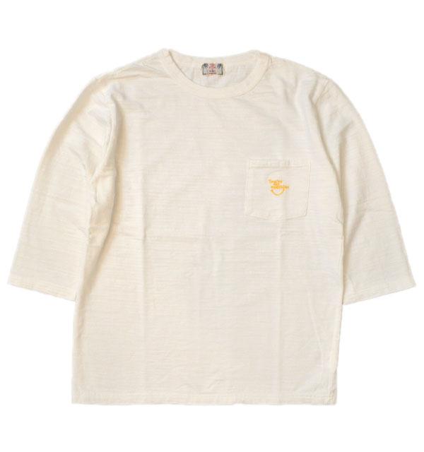 ユーエムアイ サンライズ U.M.I SUNRISE スラブポケット7分袖 sunshine WHITE