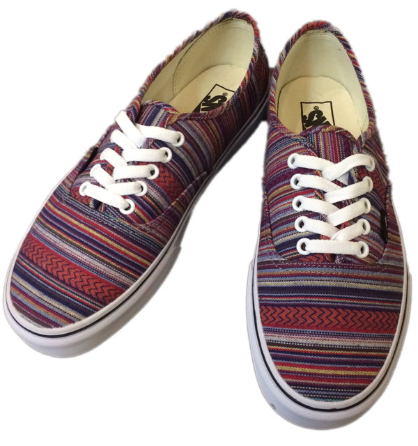 バンズ 【VANS】 AUTHENTIC   Guate Weave Black/Multi