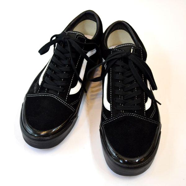 バンズ VANS アナハイムファクトリー オールドスクール ANAHEIM FACTORY OLDSCHOOL 36DX BLACK/BLACK