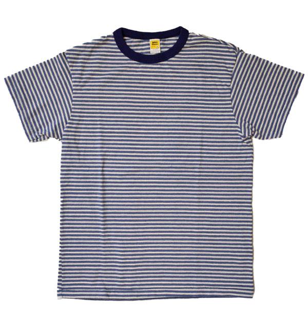 ベルバシーン Velva Sheen マルチボーダーTシャツ DEADSTOCK STRIPE TEE L.BLUE/WHITE