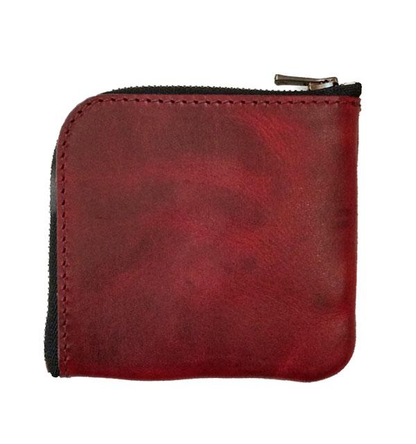 ズー 【ZOO】 TURKEY COIN CASE 3 ターキーコインケース RED