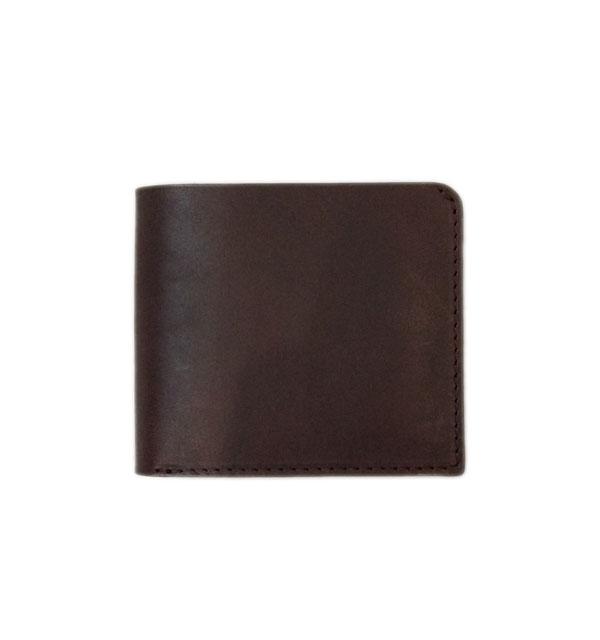 ズー 【ZOO】 BADGER BILLFOLD 3 ラティーゴレザー 二つ折り財布 BROWN