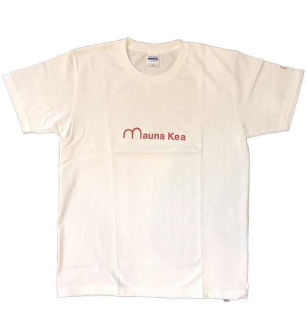マウナケア 【mauna kea】 マウナケアプリントTシャツ RED