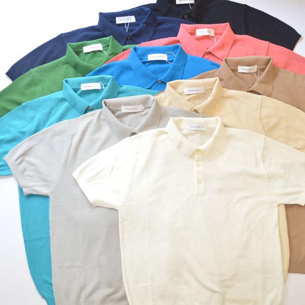 ムーンキャッスル MOONCASTLE アイスコットン S/S ポロシャツ ICE COTTON POLO SHIRT 10COLOR