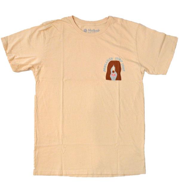モラスク 【MOLLUSK】 プリントTシャツ WAVE WARRIERS TEE MADE IN USA