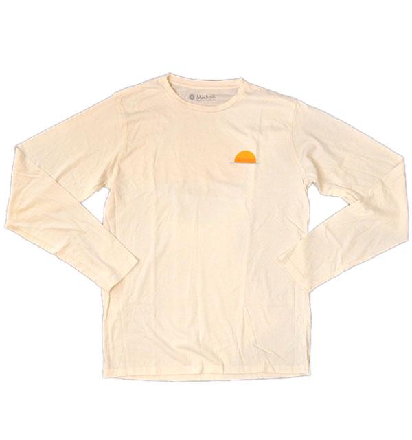 モラスク MOLLUSK コットンロングスリーブTシャツ SUNRISE
