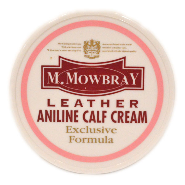 エム・モゥブレィ M.MOWBRAY アンニンカーフクリーム 乳化性タイプ ANILINE CALF CREAM ソフトレザー靴用栄養クリーム