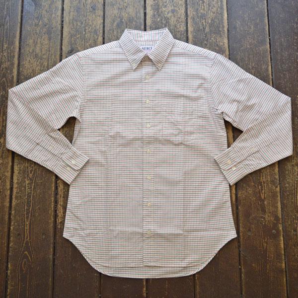 セロ SERO ボタンダウンシャツ タッターソール B.D SHIRT TATTERSALL RED