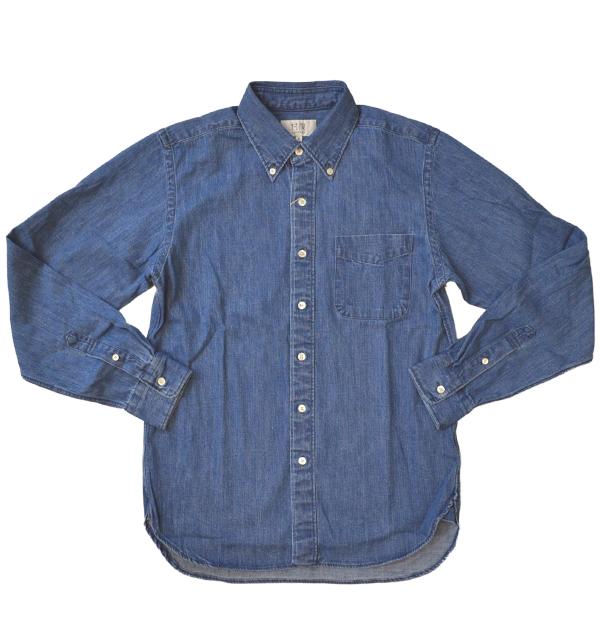 ソンタク 【SONTAKU】 DENIM BD SHIRTS 8OZデニムボタンダウンシャツ L.INDIGO
