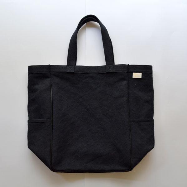 スオーロ suolo バーリー BARLEY ジュート トートバッグ Tote Bag NIGHT BLACK
