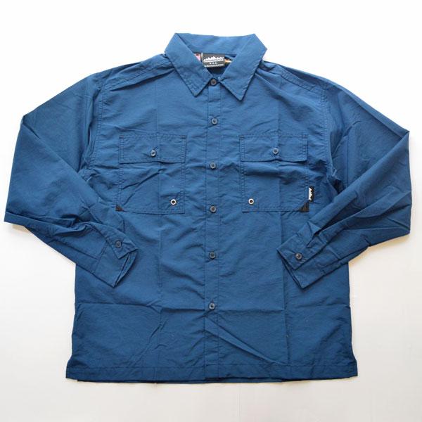 サウザンドマイル THOUSAND MILE サプレックスナイロンユーティリティシャツ UTILITY SHIRTS MADE IN USA NAVY