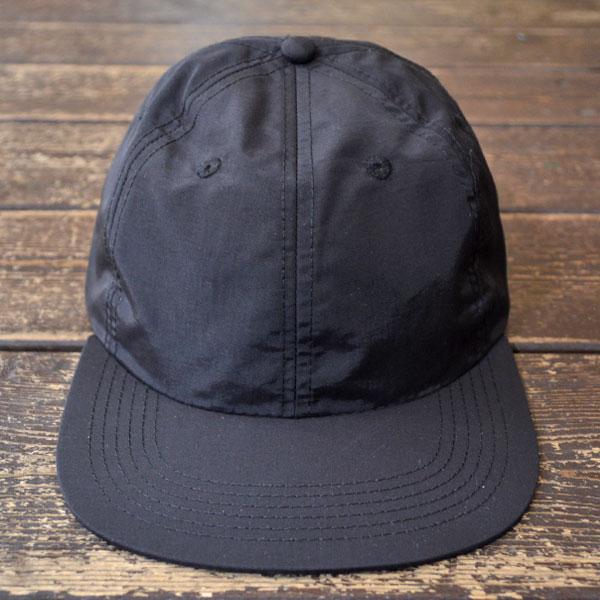 トポデザインズ TOPO DESIGNS ナイロン 6Pキャップ NYLON BALL CAP BLACK