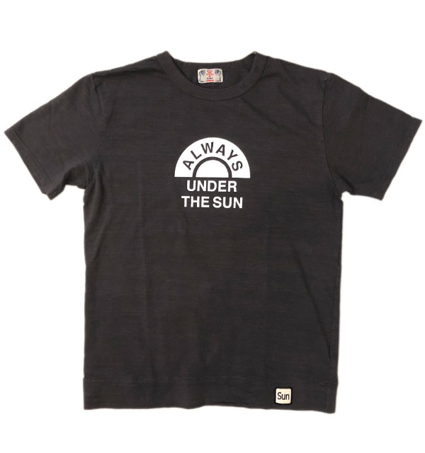 ユーエムアイ サンライズ 【U.M.I SUNRISE】 スラブプリントTシャツ ALWAYS BLACK