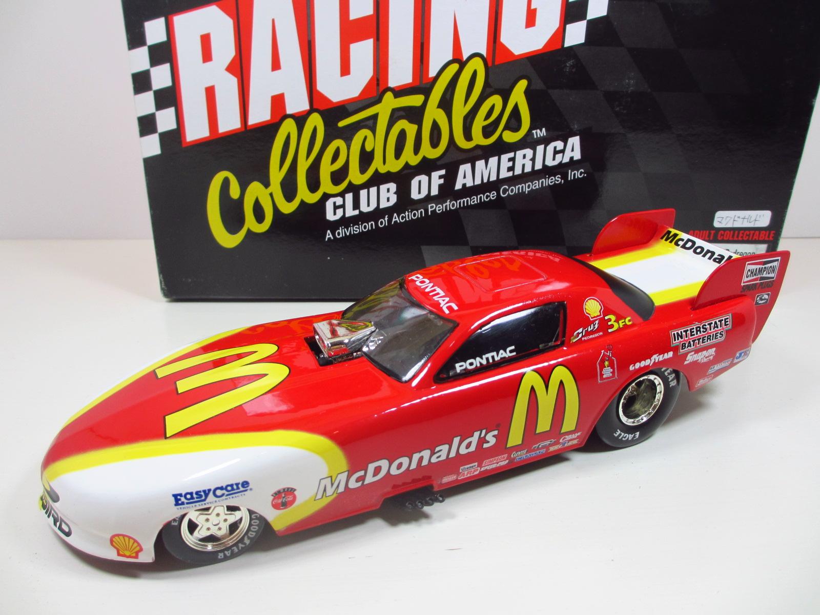 1/24 ACTION  1997 CRUZ PEDREGON  McDonald's Pontiac Firebird   24-102