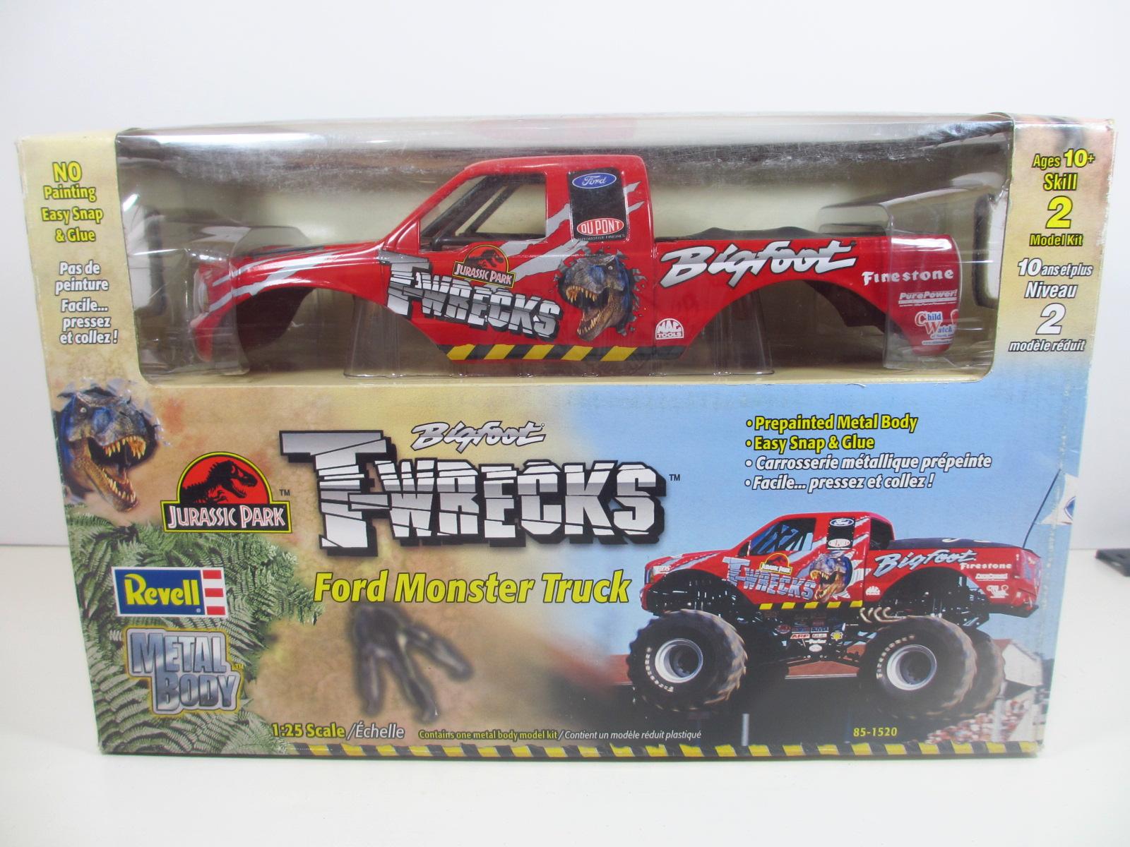 Revell 1/25  Ford Monster Truck  Jurassic Park    24-107