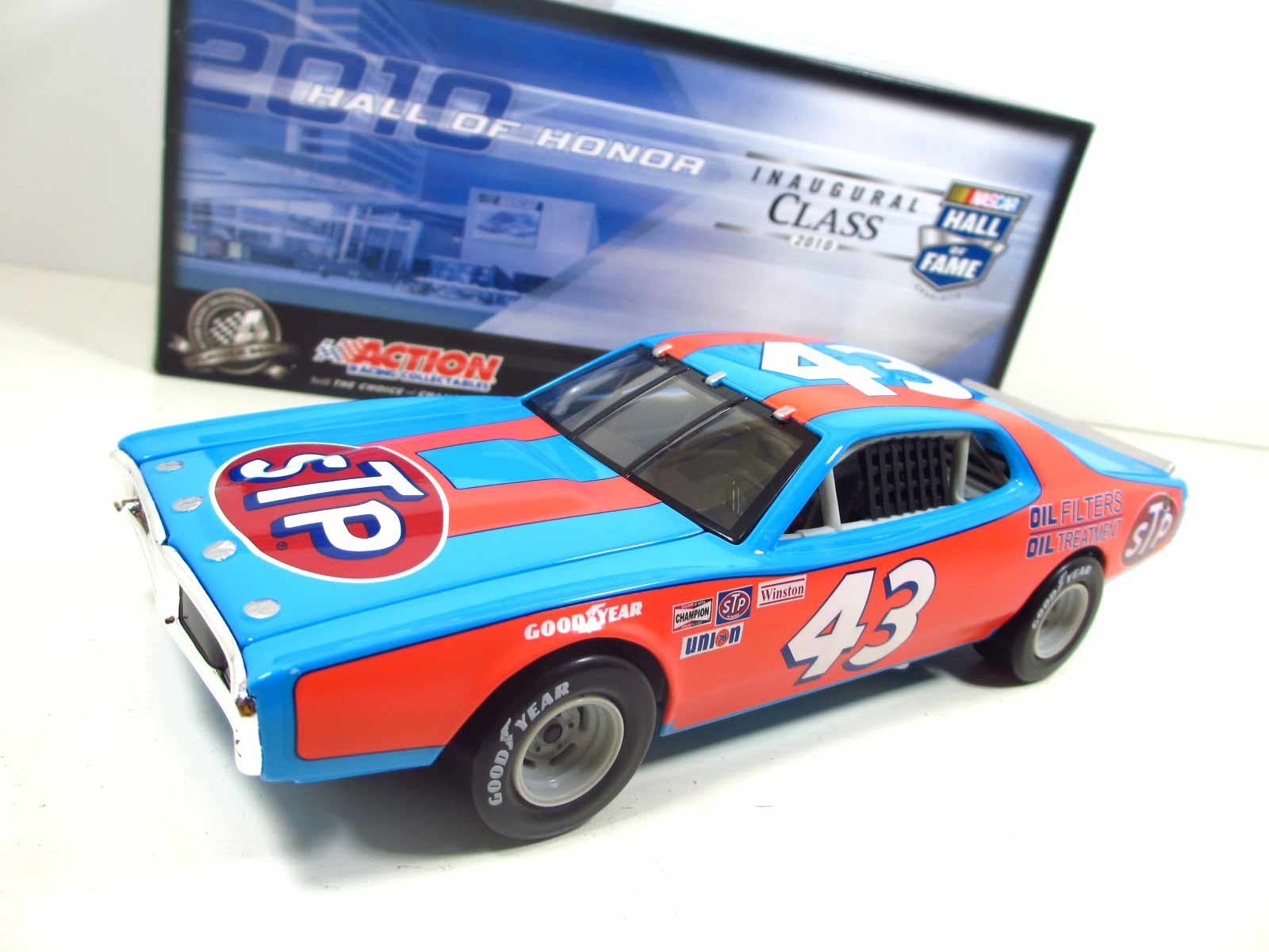 1/24 ACTION  #43 1974 Dodge Charger  Richard Petty  STP  24-110