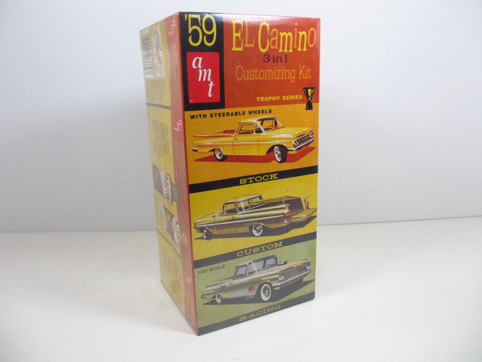 AMT  1/25  1959 Chevy EL camino エルカミ エルカミーノ k-36