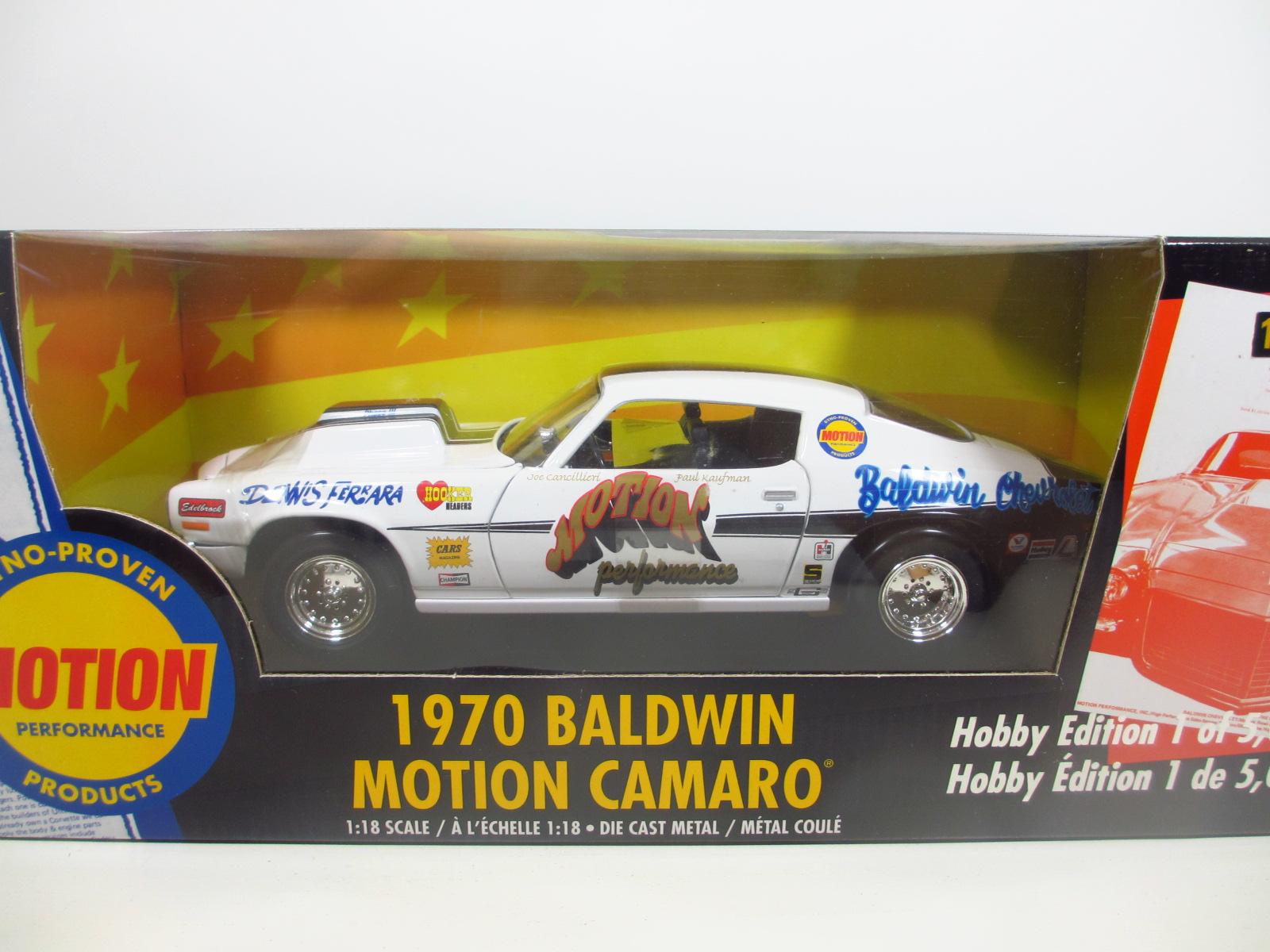 1/18  ERTL 1970 Baldwin Motion Camaro  カマロ 18-157