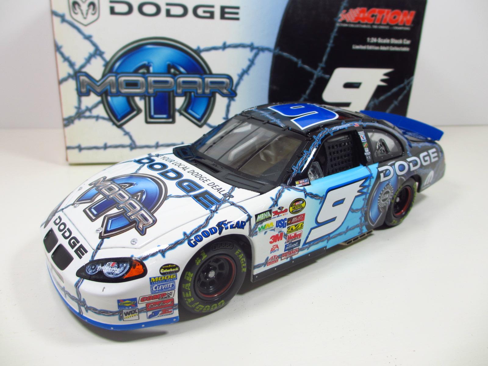 1/24 ACTION  2004 Kasey Kahne #9   MOPAR Dodge  モパー 24-111