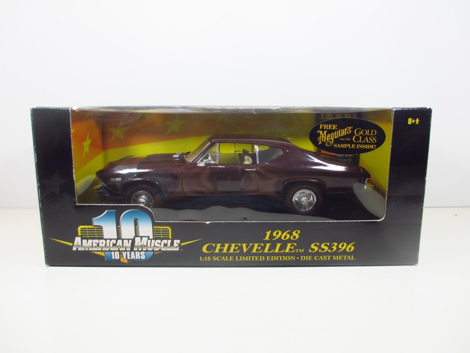 1/18  ERTL  1968 Chevelle SS396  シェベル  18-164