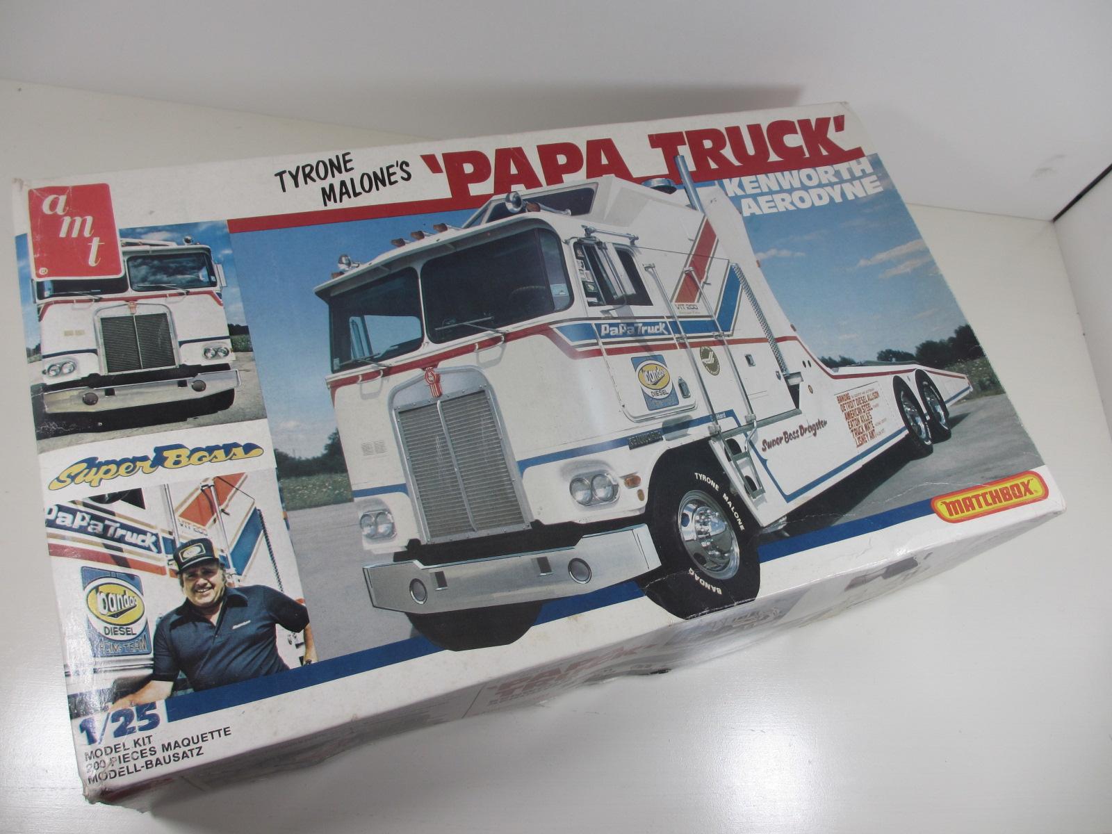 AMT  1/25   Papa Truck  Kenworth Aerodyne  パパ トラック k-37