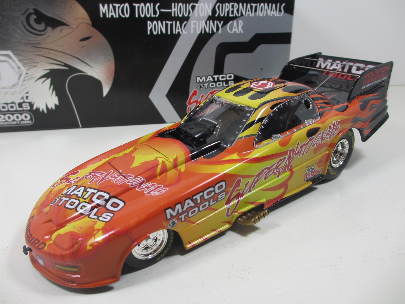 1/24 Racing Champions MATCO Tools  Funny Car  NHRA 24-126