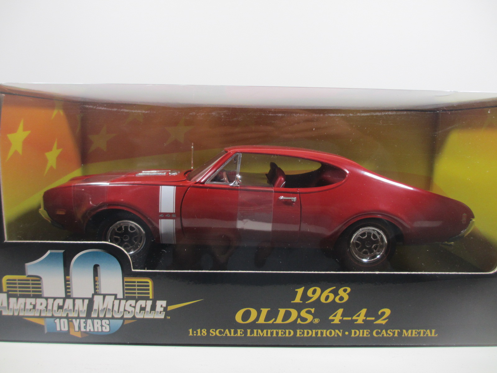 "1/18 ERTL 1968  Oldsmobile ""4-4-2"" オールズ モービル  18-179"