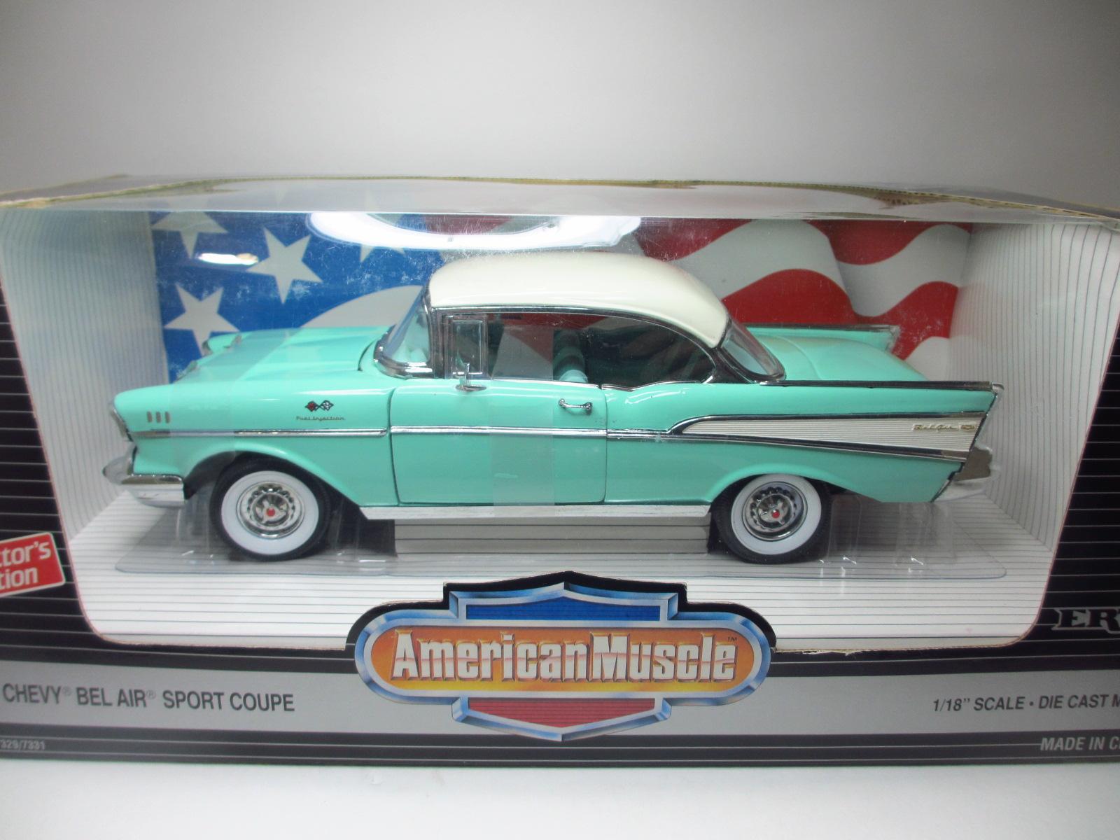 1/18  Ertl  1957  Chevrolet Bel Air Hardtop / シボレー ベルエア ハードトップ 18-203