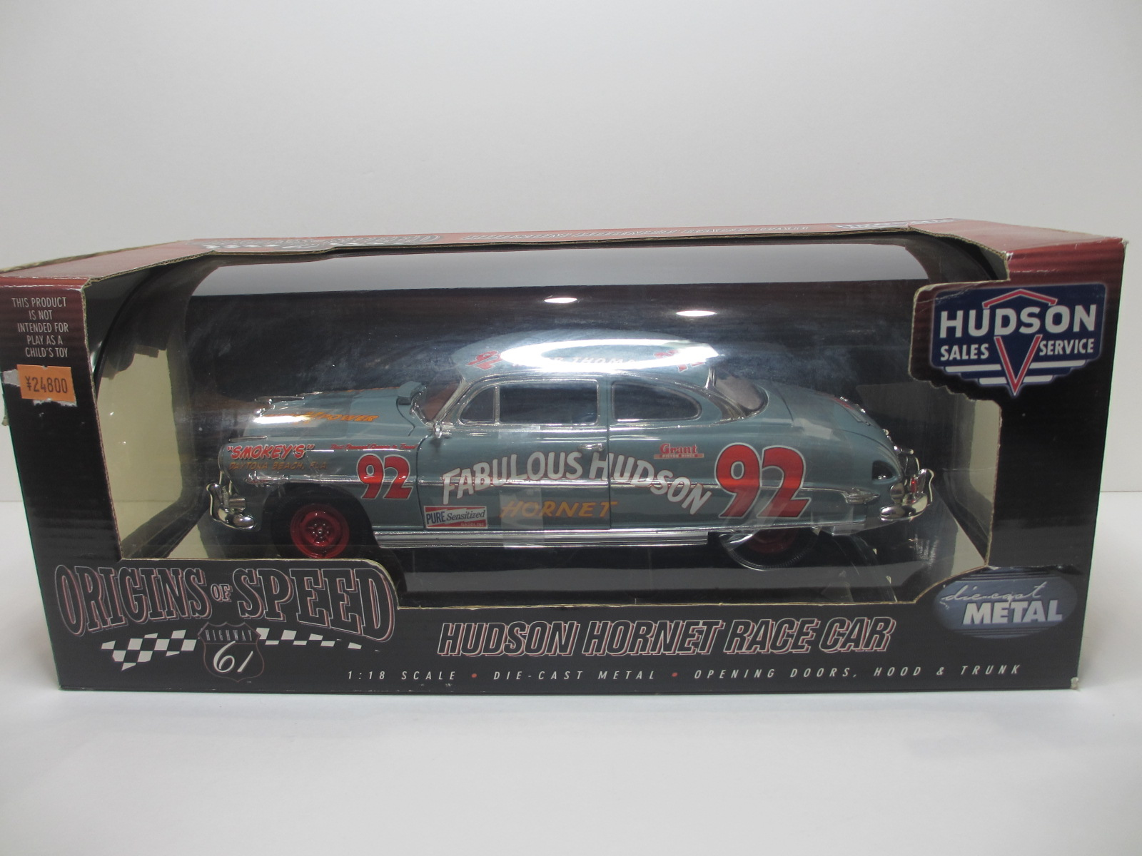 1/18  Highway 61   Hudson Hornet ハドソン・ホーネット #92 18-208