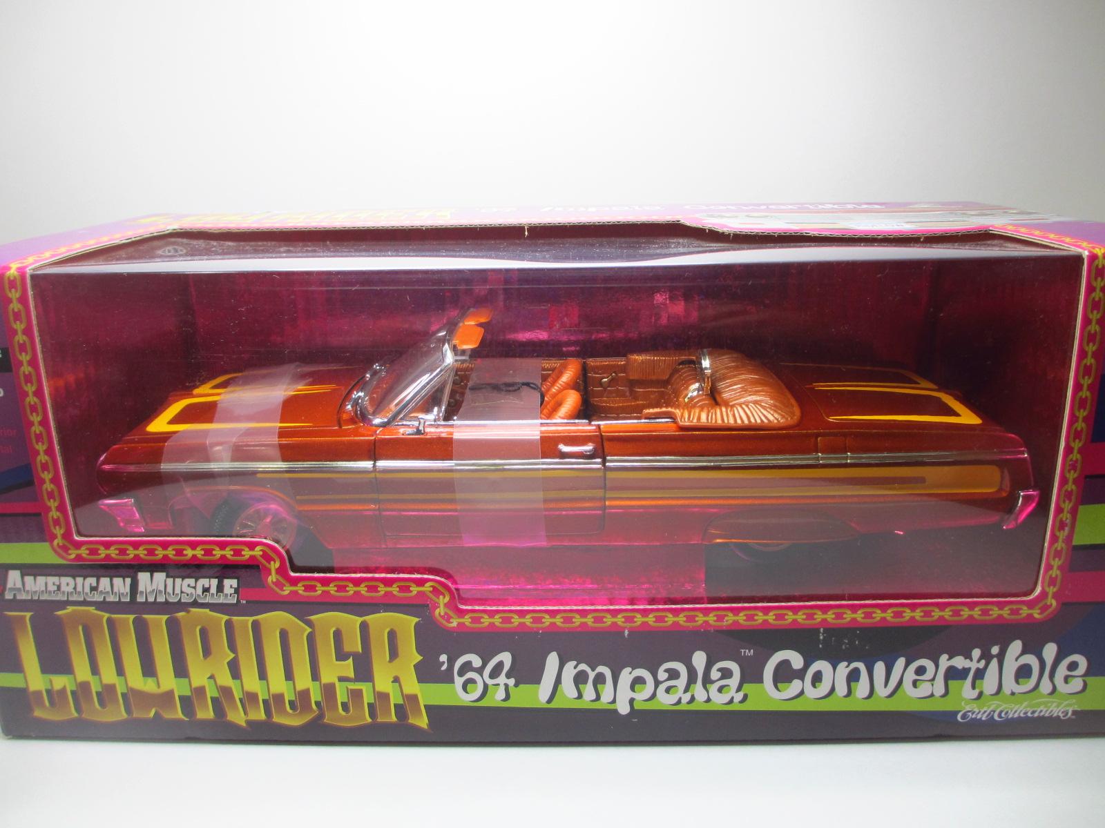1/18 ERTL  1964 Chevrolet Impala  インパラ ローライダー コンバー  18-210