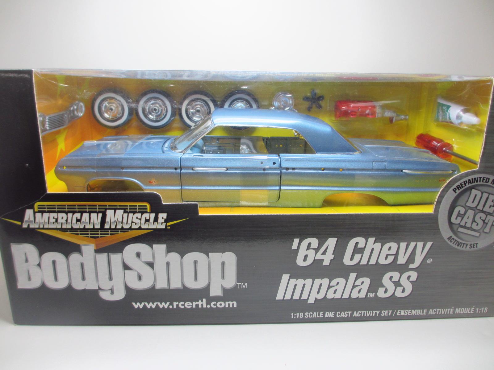 1/18 ERTL  1964 Chevrolet Impala  インパラ 18-211