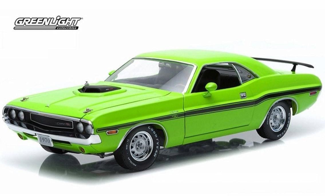 1/18 GreenLight  1970 Dodge Challenger R/T SUBLIME GREEN / ダッチ チャレンジャー サブライム・グリーン 18-202