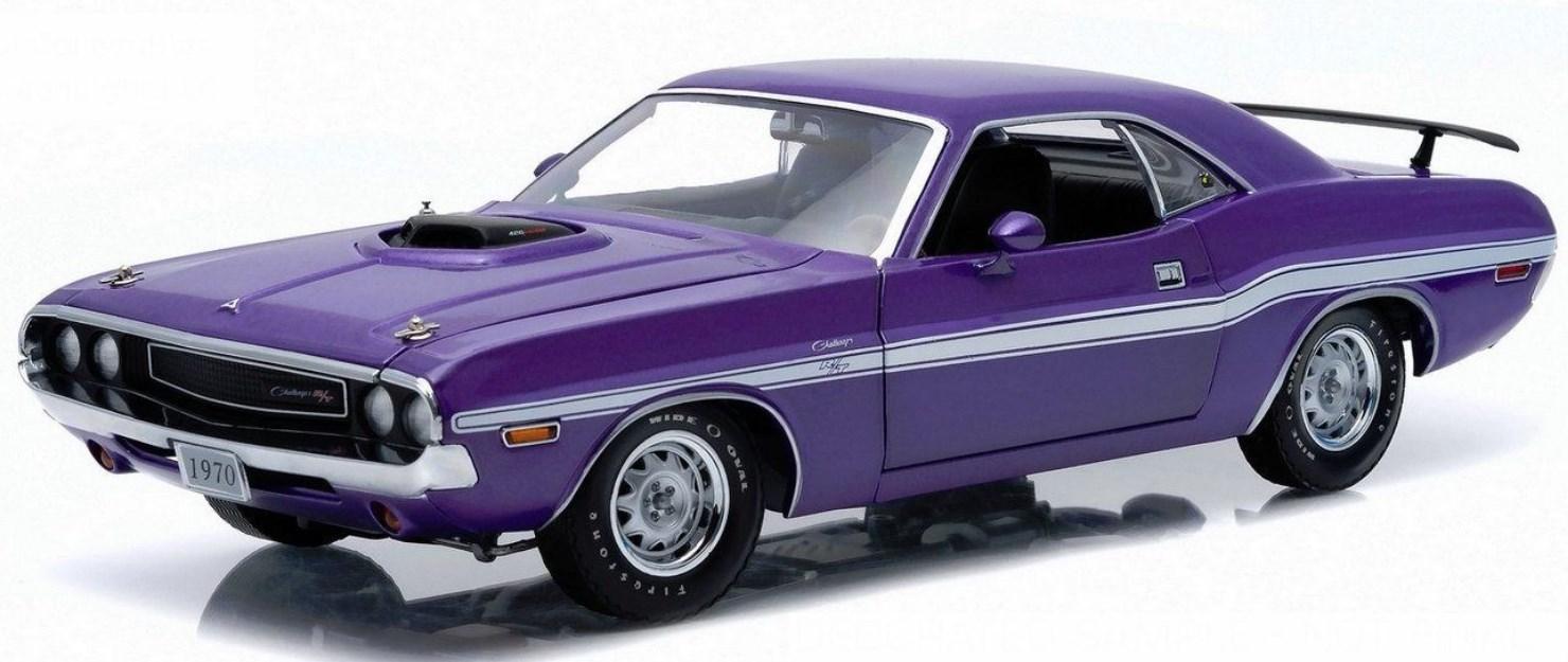 1/18 GreenLight  1970 Dodge Challenger RT Plum Crazy /ダッチ チャレンジャー プラム クレイジー 18-201