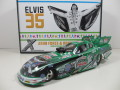1/24  2012 John Force / Elvis Presley's エルビス プレスリー NHRA Mustang Funny Car 24-130
