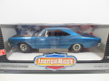 1/18  ERTL  1969 Plymouth Roadrunner  Jamaica BLUE  ロードランナー  18-190